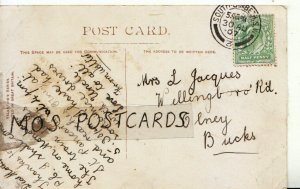 Genealogy Postcard - Jacques - Willingborough Road - Olney - Bucks - Ref 9046A