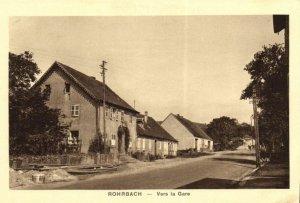 CPA AK ROHRBACH - Vers la Gare (105073)