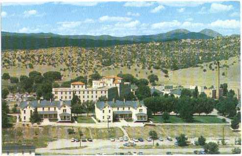 Old Fort Whipple, Veterans Administration Hospital, Prescott Arizona, AZ, Chrome
