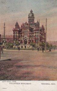 WINNIPEG , Manitoba , Canada , 00-10s ; City Hall