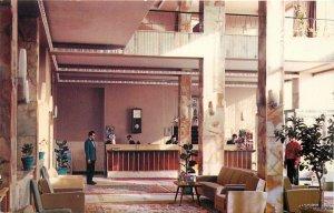 Postcard Iran main lobby hotel sina tehran