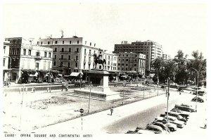 Caire Opéra Carré & Continental Hôtel Cppr Carte Postale
