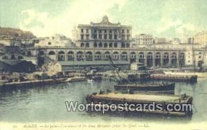 Alger Algeria, Africa, Le Palais Consulaire et les deux Mosquees Prises du Qu...
