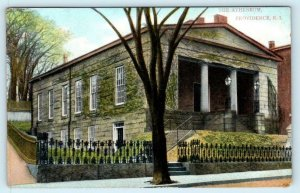 PROVIDENCE, Rhode Island RI ~ THE ATHENEUM 1910 Postcard