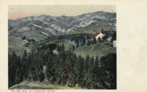 CALIFORNIA, 1900-10s; View on the way to Yosemite Valley