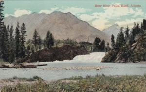 Bow River Falls , BANFF , Alberta , Canada , 00-10s