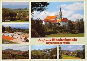 Gruss aus Bischofsmais multiviews Ferienpark St Hermann Kirche Chess Game