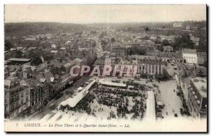 Lisieux - Place Thiers and Saint Desir - Old Postcard