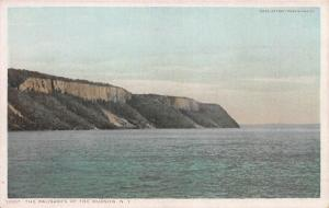 The Palisades of the Hudson, N.Y., Early Postcard, Unused