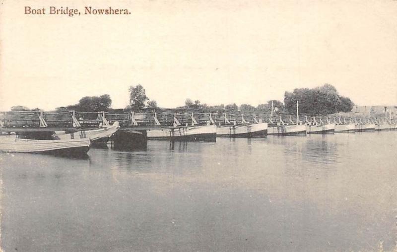 Pakistan Nowshera, Khyber Pakhtunkhwa, Boat Bridge