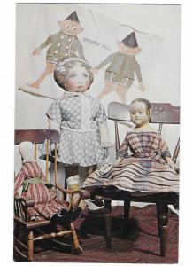 Fabric Dolls Mary Merritt's Doll Museum Rt 222 Douglassville Pennsylvaina