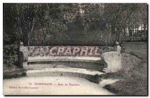 Old Postcard Compiegne Bench Napoleon