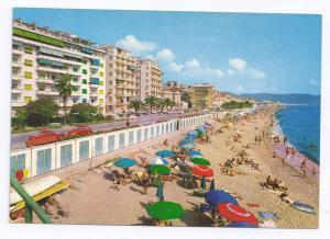 Loano Italy The Shore Beach Riviera delle Palme Postcard
