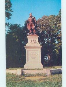 Pre-1980 MONUMENT SCENE Jamestown - Near Hampton & Newport News VA AE7395