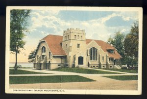 Wolfeboro, New Hampshire/NH Postcard, Congregational Church