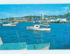 Pre-1980 PANORAMIC VIEW Boothbay Harbor Maine ME hp4562