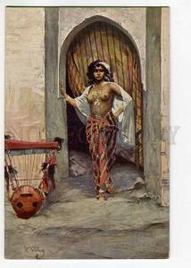 264631 Odalisque NUDE HAREM Slave BELLY DANCER by RELINK old