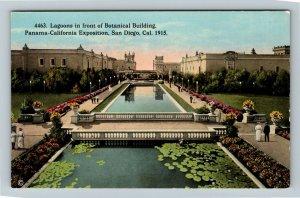 1915 Panama-California Exposition - Lagoons at Botanical Building - Postcard
