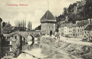 CPA Luxembourg Paffental (30676)