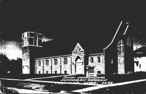 Nebraska Fremont Sinai Evangelicak Lutheran Church Real Photo