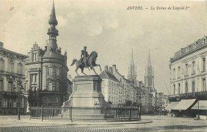 Belgium Anvers la statue de leopold I Postcard