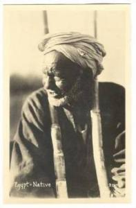 RP; Egypt - A Native Man , 20-40s
