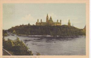 Canadian Houses of Parliament from Hull , Quebec , 30-50s