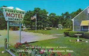Portview Motel West Hyannis Port Massachusetts