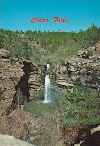 Beautiful Cedar Falls Petit Jean Park Morrilton Arkansas
