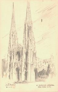 USA St Patrick's Cathedral New York City 01.99