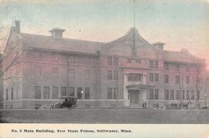 Stillwater Minnesota New State Prison Main Bldg Antique Postcard K105702