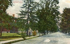 NY - Canisteo. West Main Street