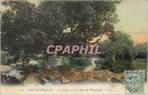 Old Postcard Fontainebleau Mare Franchard