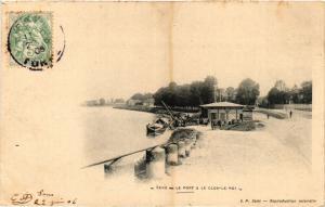 CPA SENS - Le Port & le Clos-le-ROI (358261)