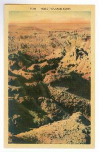 Hell's Thousand Acres, Black Hills, South Dakota, unused PPC