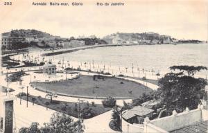 RIO DE JANEIRO BRAZIL~BEIRA-MAR GLORIA~A RIBEIRO #282 POSTCARD