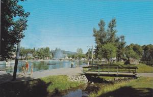 Gyro Park and Swimming Pool in Cranbrook, British Columbia, Canada, 40-60s