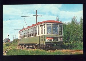 Kennebunkport, Maine/ME Postcard, Seashore Trolley Museum