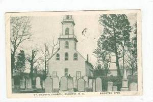 St. David's Church, Cheraw South Carolina 1939