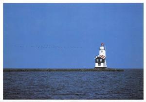 Netherlands Lighthouse Marken Holland Leuchtturm