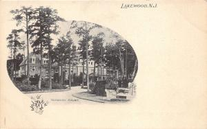 Lakewood New Jersey~Georgian Court~Picturesque Postcard~c1905