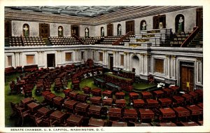 Washington D C United States Capitol Senate Chamber