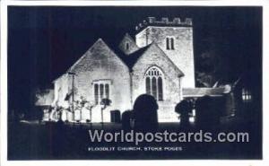 England, United Kingdon of Great Britain Stoke Poges Floodlit Church