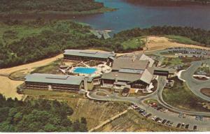 Aerial View of Salt Fork State Lodge - Hotel near Cambridge, Ohio