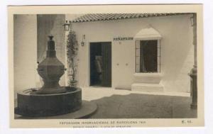 RP  Exposition Internacional de Barcelona, Spain, 1929, Pueblo Espanol Plaza ...