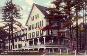 LAKE WINNIPESAUKEE, NH LAKESIDE HOUSE, WEIRS 1912