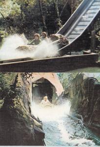 Bagatelle Water Slide France Le River Splatch Merlimont 2x Postcard s