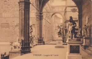 Italy Firenze Florence Loggia de Lanzi