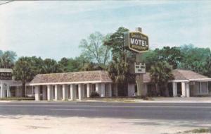 Exterior, Palms Motel and Restaurant U.S. 17. Ridgland,  South Carolina, 40-60s