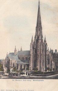 BIRMINGHAM, England, UK , 1900-10s ; St Martin's , Bull Ring